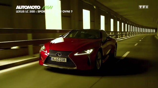 Essai Lexus Lc 500 Sportive Gt Ou Ovni Automoto Tf1