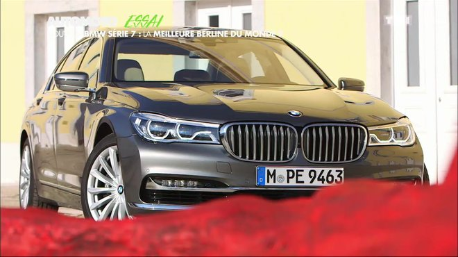 essai vid o bmw s rie 7 2015 la limousine techno parade automoto tf1. Black Bedroom Furniture Sets. Home Design Ideas