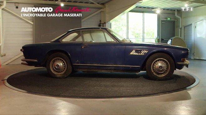 Grand format d couverte d un incroyable garage maserati for Fonctionnement d un garage automobile