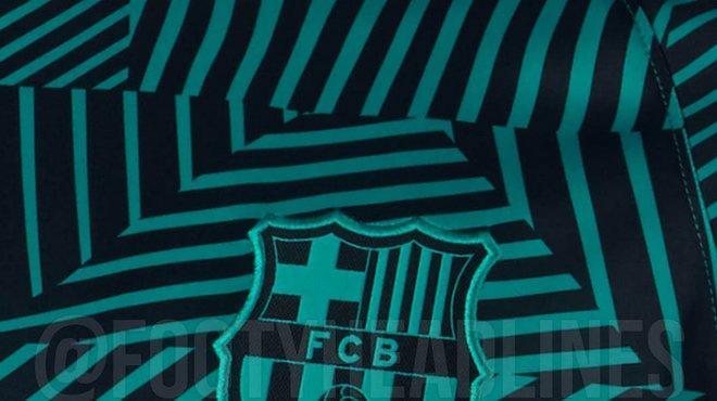 Maillot entrainement FC Barcelona 2018
