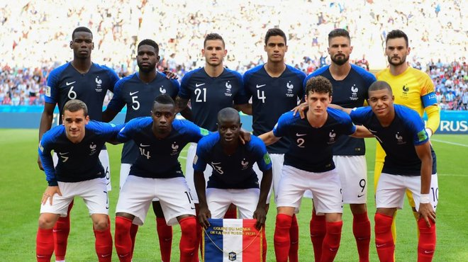 Equipe de france les bleus doivent faire face au racisme - Coupe du monde 1994 equipe de france ...