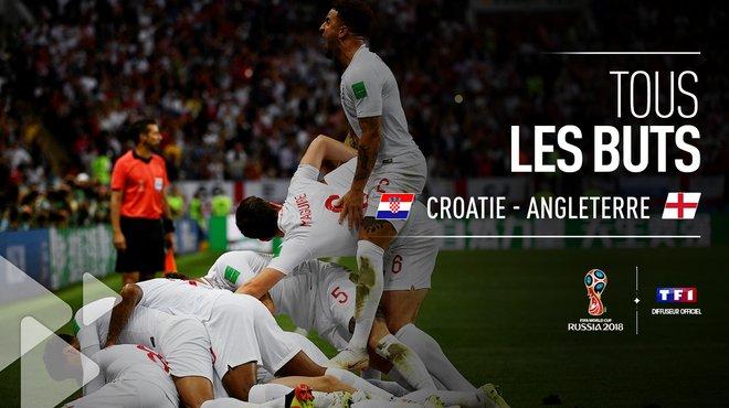 Croatie Angleterre   Voir Tous Les Buts Du Match Coupe Du Monde De La Fifa Russie  Tf
