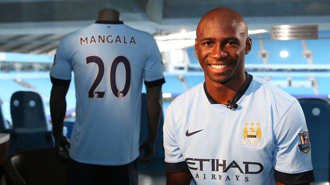 Maillot Extérieur Manchester City Eliaquim Mangala