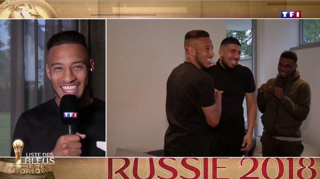 Equipe De France Quand Tolisso Apprend Sa Selection Pour La Coupe