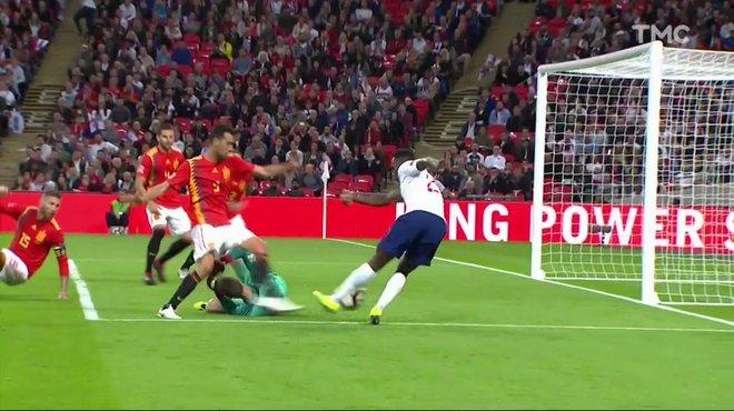 Angleterre Espagne 1 2 Voir Le But Refuse De Welbeck En