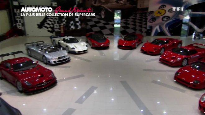 Grand format la plus belle collection de supercars au - Nombre de garage automobile en france ...