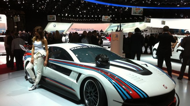 Salon De Genve 2012 Italdesign Brivido Concept Coup Le