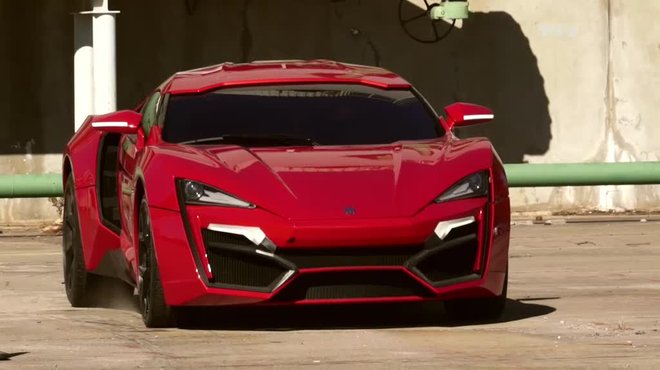 exclusivit lykan hypersport star de fast and furious 7 automoto tf1. Black Bedroom Furniture Sets. Home Design Ideas