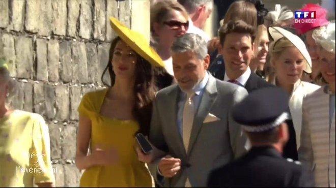 Mariage du Prince Harry et Meghan Markle  l\u0027arrivée des Beckham et des  Clooney , Le mariage du Prince Harry et Meghan Markle , TF1