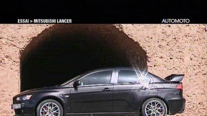Essai La Mitsubishi Lancer Evo X