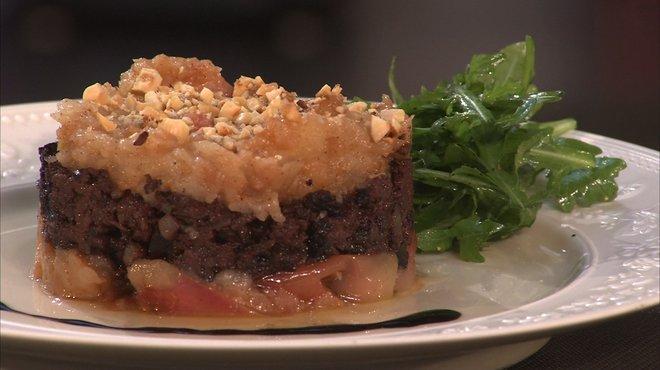 Recette de palet de boudin noir aux pommes petits plats - Recette cuisine tf1 petit plat en equilibre ...