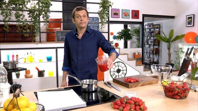 Recette de bouch es feuillet es aux fraises petits plats en equilibre - Toutes les recettes de petit plat en equilibre ...