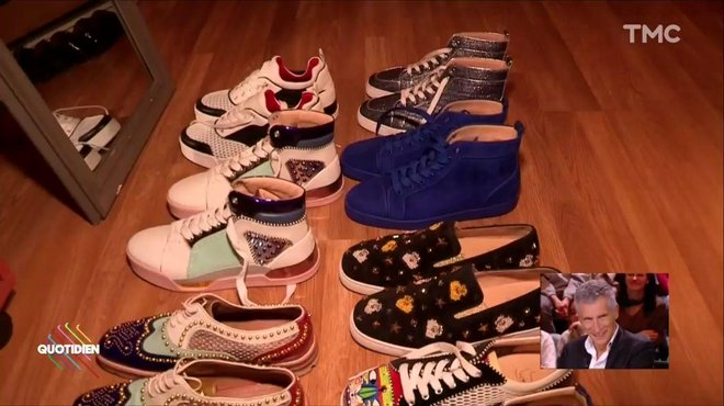 chaussures louboutin de nagui
