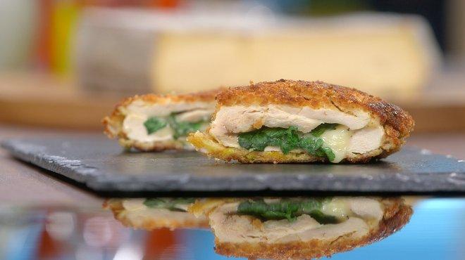 Recette de cordons bleus au saint nectaire petits plats - Tf1 recettes cuisine laurent mariotte ...