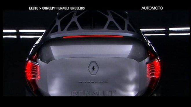 Mondial De Lauto 2008 Le Concept Renault Ondelios En Exclusivit